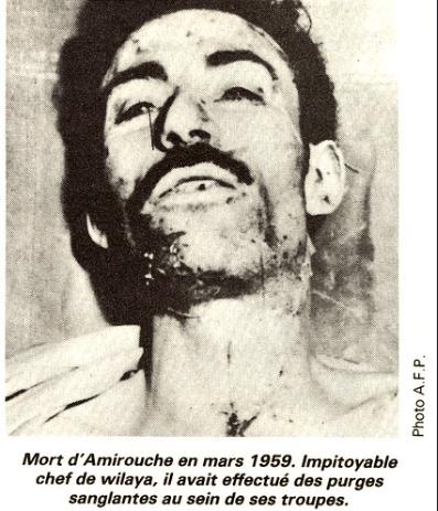Mort de Amirouche, impitoyable chef de guerre